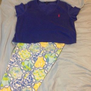 Lilly Pulitzer Capri's and Ralph Lauren Polo